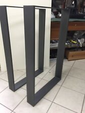 Steel Table X2 Gambe/base per Consolle o tavolo  Ufficio Salotto Cucina