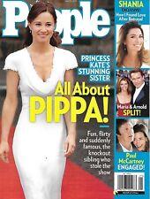 People Magazine Pippa Middleton Shania Twain Arnold Schwarzenegger Maria Shriver