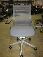 Steelcase Ergonomic Think Task Desk Chair  Adjustable in 3D Knit Back, New
