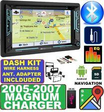 05 06 07 DODGE MAGNUM CHARGER Gps Navigation SYSTEM BLUETOOTH CAR Radio Stereo