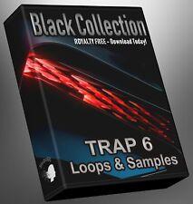 Trap Loops Black Collection Part 6 Ableton Logic Pro FLStudio Cubase Reason MPC