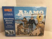 Alamo Defenders Imex 1/72 25mm Scale Plastic Toy Soldiers #509