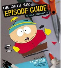 The South Park Episode Guide Seasons 1-5 Book Brand new Paperback Caravan tv