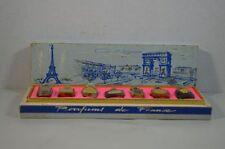 Vintage Parfums De France Set of 7 Miniature Bottles