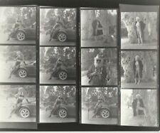 Hendrickson PHOTO Contact Sheet & Negatives Sexy Lingerie Model Car Porshe Mink