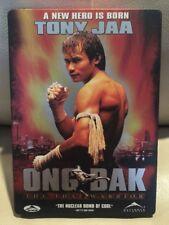 Ong-Bak: The Thai Warrior STEEL BOOK DVD (2005) Tony Jaa NM