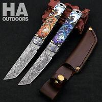 HA Outdoor Survival Camping Tactical Hunting Knife Folding Pocket Knives