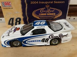 1/24 #48 2004 Jimmie Johnson Crown royal iroc action Xtreme