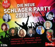DIE NEW!E SCHLAGER PARTY,VOL.5 (2018)  3 CD NEW!