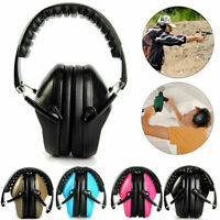 Foldable Ear Muffs Shooting Hunting Hearing Ear Protection Noise Reduction