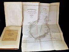 COLOMB Exploration des Ksours et du Sahara de la province d'Oran EO CARTE 1858