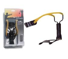 MKT1-BP High Velocity Folding Slingshot with 10 Steel Ball Ammo Wrist Support Bl