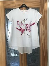 Ted Baker Girls Age 11-12 T- Shirt