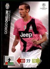 Panini Champions League 2012-2013 Adrenalyn XL Giorgio Chiellini Juventus
