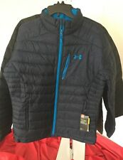 NWT 2018 Under Armour UA Storm Down Jacket Puffy BLUE Mens L Large WE05