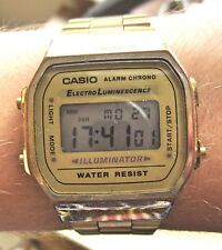 Unisex GP Digital Casio Electro Luminescene Alarm Chrono Watch Fully Working