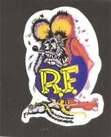 A RAT FINK Sticker Decal Hot Rod Car Surfboard Surfing PANEL VAN UTE HOLDEN vw