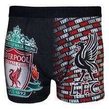 Liverpool FC Official Mens Crest Boxer Shorts - L