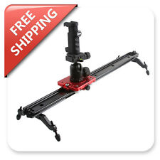 "Kamerar Camera Video Slider 23""/SLD-230MKII Ballhead Mount W/Mini Smartphone Rig"