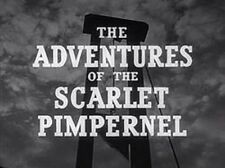 Adventures of the Scarlet Pimpernel 1950s television series 18 episodes on DVD