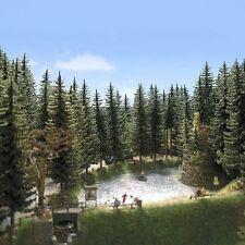 Busch 6137: Bomen: 2 hoogstamsparren (160/175mm)  NIEUW