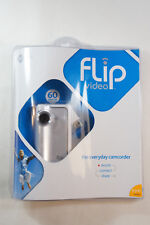 Pure Digital Technologies Flip Video Model F160W White Silver Camcorder