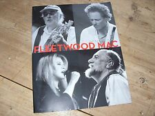 Fleetwood Mac Say You Will 2003 UK Tour Programme Excellent