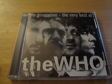The Who My Generation: The Very Best of the Who CD 1996 MCAD-11462 NM Condition