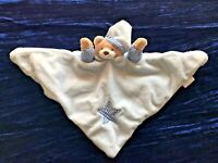 Babies Blue Teddy Bear Comforter ~ Teddy ~ Blanket ~ Baby Town ~ Discontinued