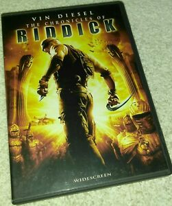 The Chronicles of Riddick DVD Vin Diesel
