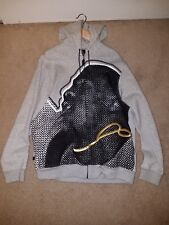 NIKE AIR JORDAN FACE HOODIE JACKET 252839 NECKLACE RARE VINTAGE LE QS SIZE XL