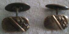 Echt Silberne (835) Manschettenknöpfe