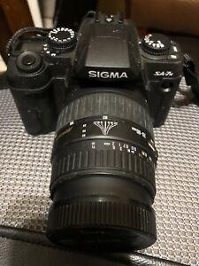Sigma SA-7n Film Camera kit with two Sigma Lenses