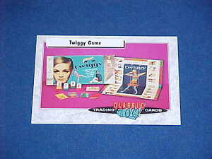 CLASSIC TOYS TRADING CARDS TWIGGY GAME