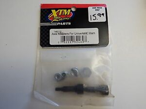 XTM Racing Parts- Axle Adapters for Universals, Mam- Model # 146112 - Box 2