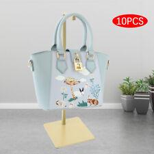 10x Adjustable Countertop Handbag Display Holder Stand Bag Purse Hanging Rack Us
