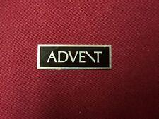 ADVENT,ORIGINAL ADVENT. LARGE ADVENT LOGO PLATES-PAIR