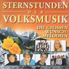 Sternstunden der Volksmusik 2 CD NEU Time Life Music Francine Jordi Klostertaler