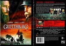GETTYSBURG DVD Tom Berenger Jeff Daniels Martin Sheen NEW (Region 4 Australia)
