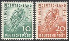 Germany 1949 Cycling/Bikes/Sports/Racing/Bicycles/Transport 2v set (n41182)