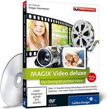 MAGIX Video deluxe 2013 - Das Training für perfekte Videos, Wie Neu