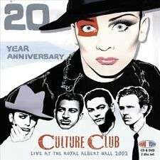 Live At the Royal Albert Hall 2002: 20th Anniversary by Culture Club (CD, Jul-2013, 2 Discs, Angel Air Records)
