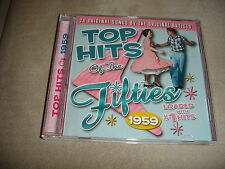 Top Hits Of The Fifties 1959 CD 20 Songs Crests Ritchie Valens Frankie Avalon