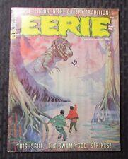 1966 EERIE #5 FVF Horror Magazine COLAN Craig FRAZETTA Ditko TOTH Wood WARREN