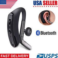 Noise Cancelling Wireless Earphone Bluetooth Headphone Earpiece Handsfree Call