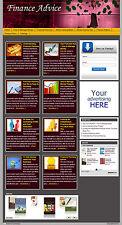 Finance Advice WP AutoBlog Website - Free Installation + Free Hosting