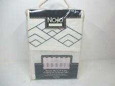 """NoJo 51"""" L x 10"""" W White/Blue Secure-Me Crib Liner Outdoor Adventure Tent"""