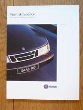 + + + vendita + + + SAAB 900 & 9000 forma e funzione AUTO opuscolo JM