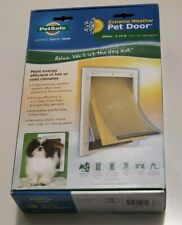 "PetSafe Extreme Weather Pet Door Small 1lb to 15lb 5 1/8"" by 8 1/4"" PPA00-10984"