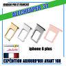 Rack Tirroir Sim Iphone 6 plus Tirroir carte nano sim iphone métal  phone 6 plus